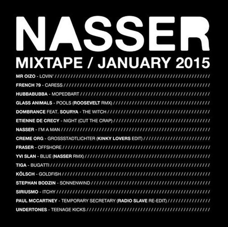 Nasser offre une mixtape mensuelle