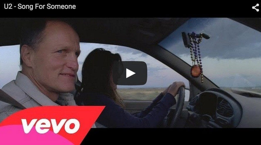 U2 embauche Woody Harrelson